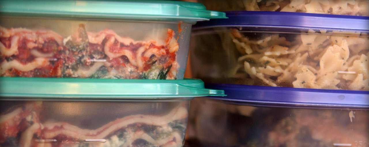 Vriezer, voedselverspilling