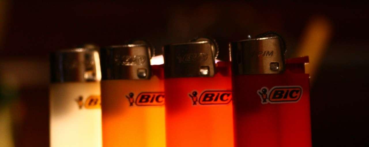 aanstekers bic