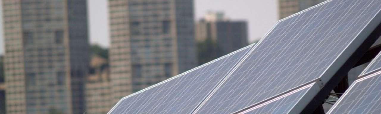 Commerciële bedrijven in VS grootste in eigen zonne-energie
