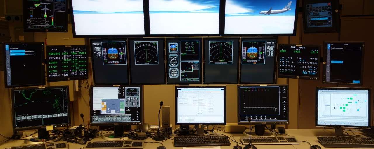 simulate vliegtuig