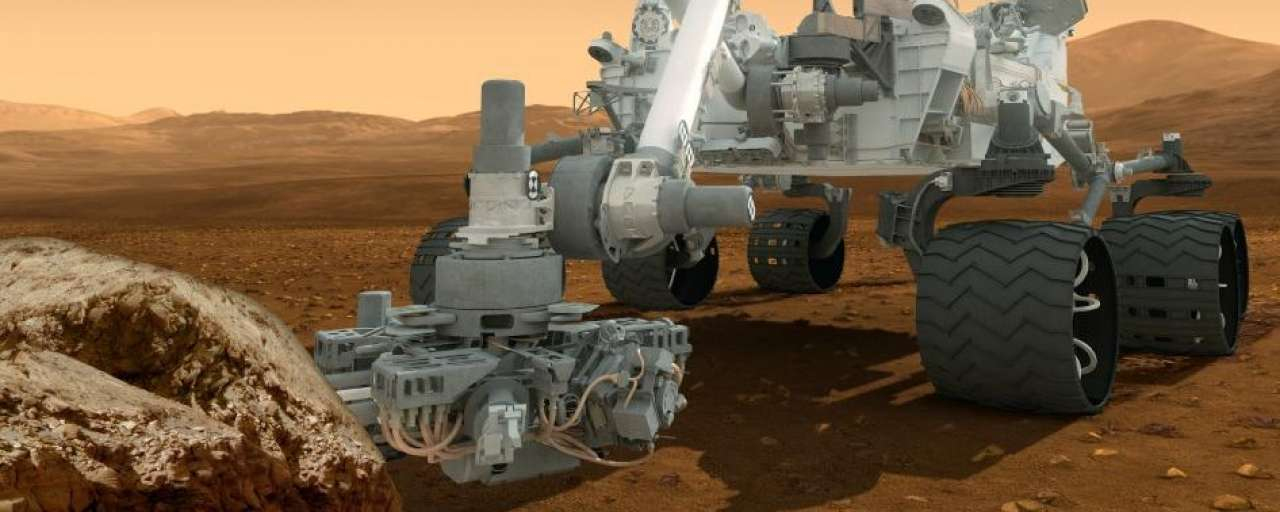 Marsrobot Curiosity