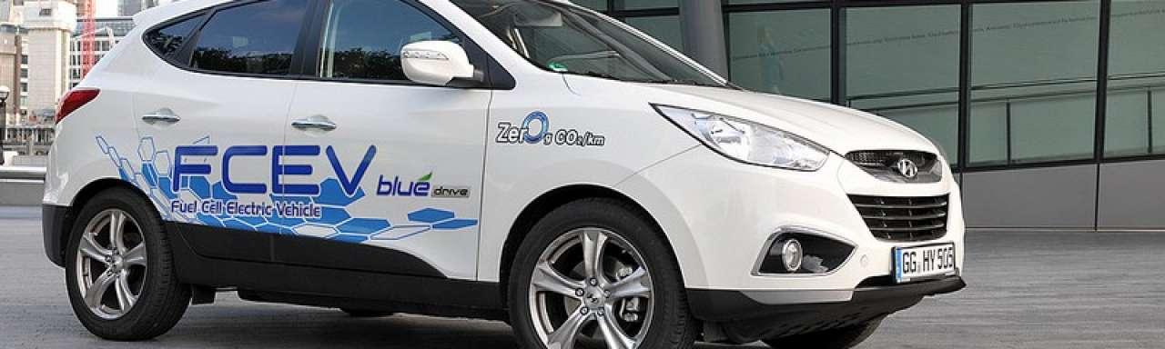 Hyundai presenteert eerste brandstofcelauto