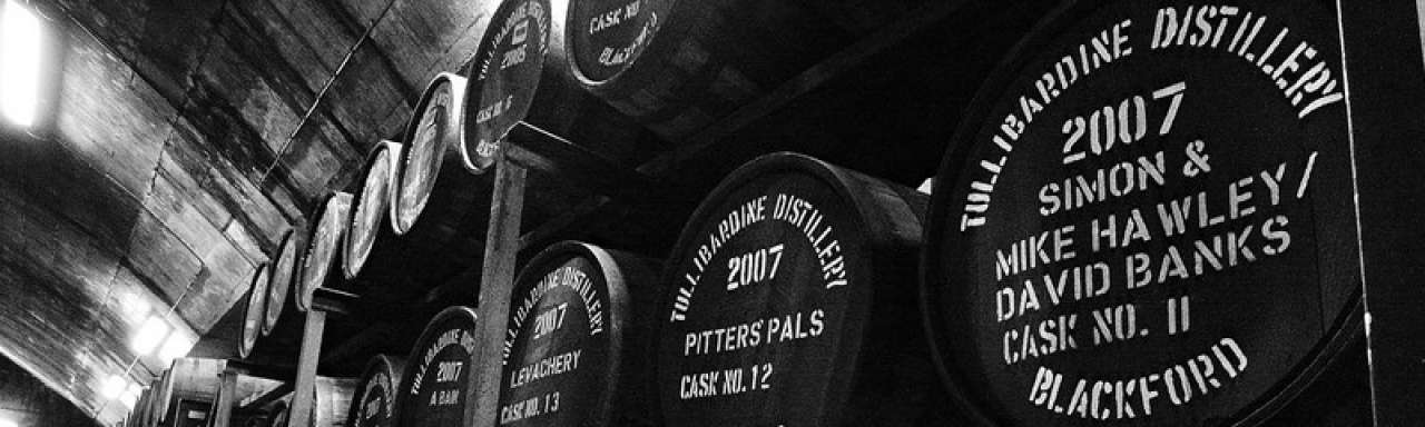 Whiskey-afval basis voor biobrandstof