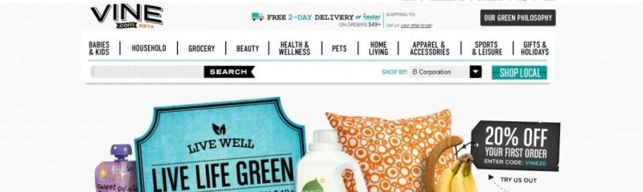 Amazon lanceert groene webwinkel
