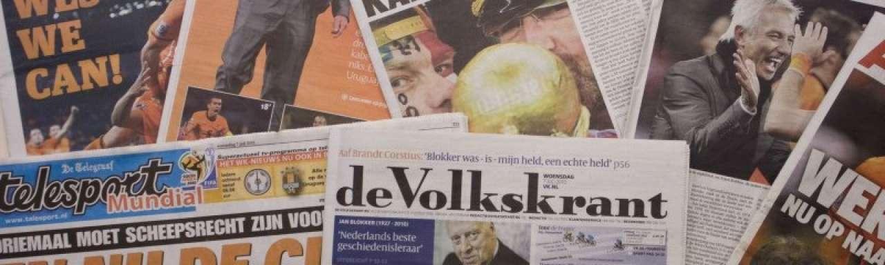 Telegraaf en Spits duurzaamste dagbladen van Nederland
