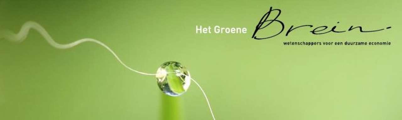 'Het Groene Brein': denktank voor duurzame economie