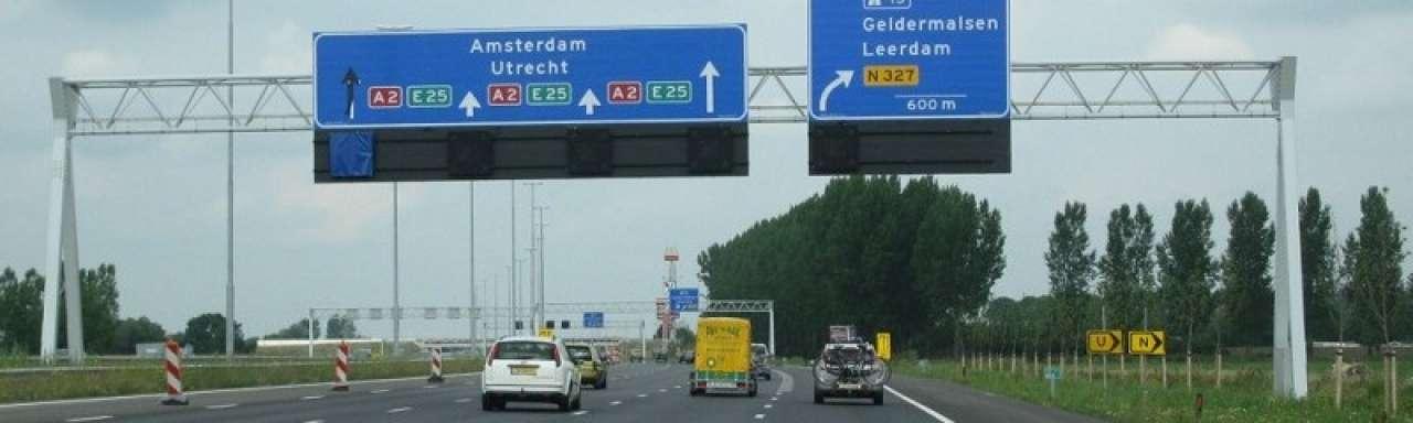 Van Amsterdam naar Maastricht over duurzaam asfalt