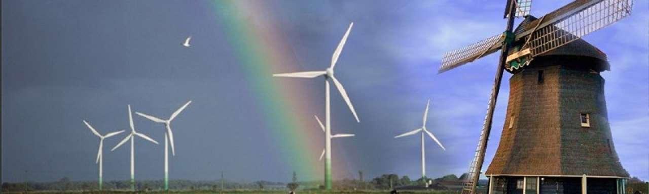 Grootste houten windmolen ter wereld operationeel