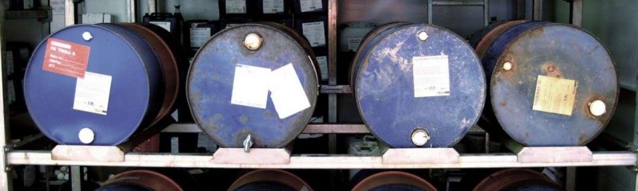 Oliemaatschappijen worden 60 procent minder waard