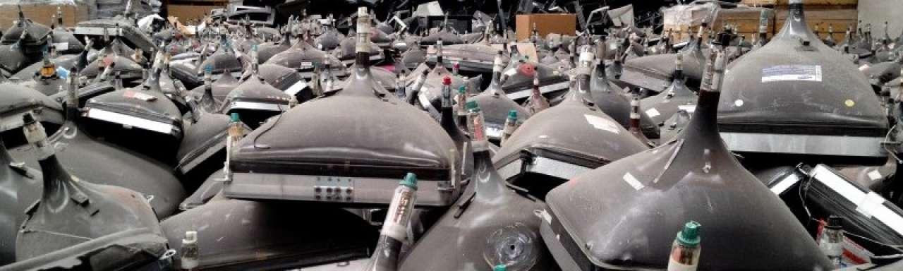 Minder elektronisch afval door crisis