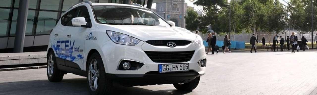 Hyundai plant massaproductie waterstofauto's
