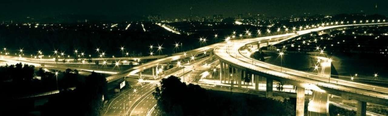 Besparing Rijkswaterstaat door doven snelwegverlichting